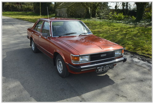 1980 Toyota Carina 1 for sale SOLD (picture 2 of 6)