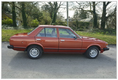 1980 Toyota Carina 1 for sale SOLD (picture 6 of 6)
