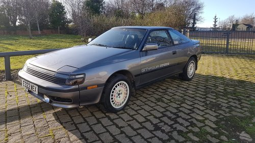 TOYOTA CELICA GT 4 ST 165 - 1988 JAPANESE IMPORT  SOLD (picture 1 of 6)