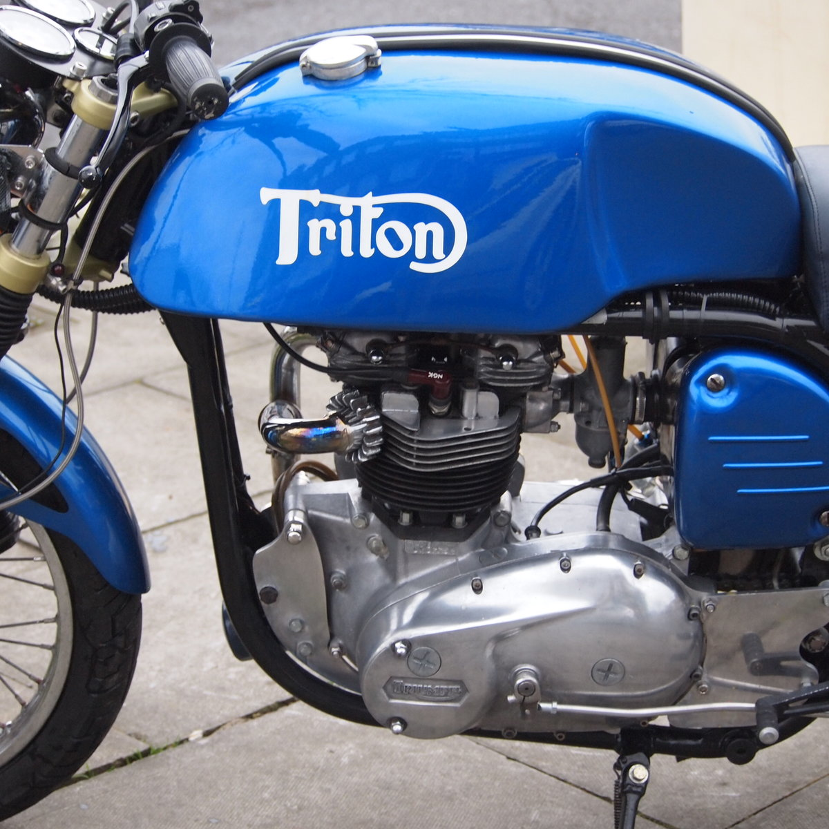 1965 Triumph Triton Featherbed Framed, RESERVED FOR NORMAN. SOLD (picture 3 of 6)