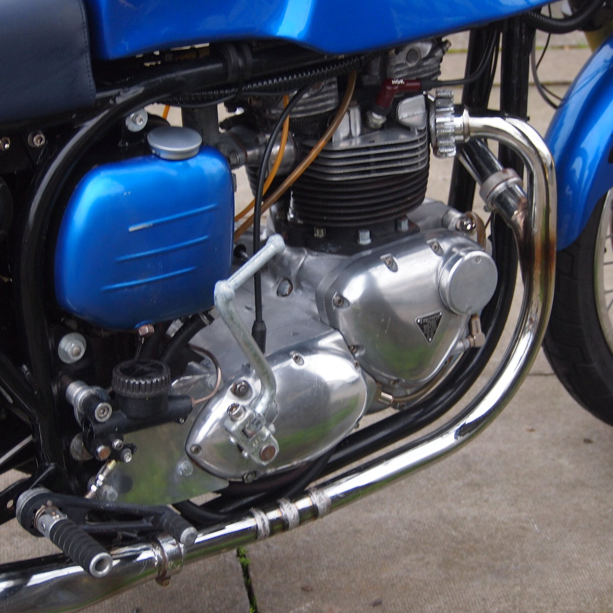 1965 Triumph Triton Featherbed Framed, RESERVED FOR NORMAN. SOLD (picture 6 of 6)