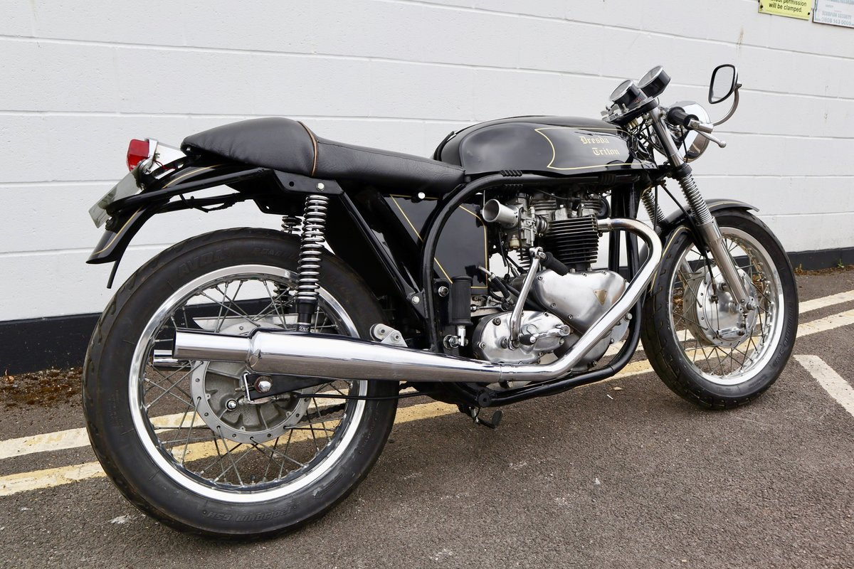 1953 Dresda Triton - Morgo 750cc - Wide Line Frame - T110  For Sale (picture 3 of 6)