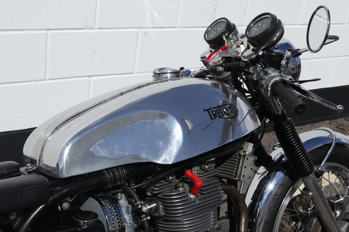 1959 Triton 750cc T150 Triple Engine - High Spec Classic Caf SOLD (picture 5 of 6)