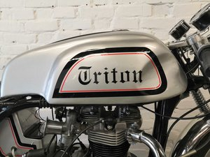 1955 NEWLY COMPLETED 650 TRITON