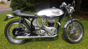1956 Triton t110 cafe racer