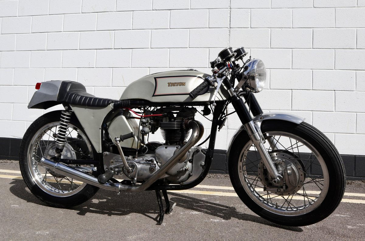 1972 Triton Cafe Racer. Fitted with 650cc unit construction  For Sale (picture 1 of 6)