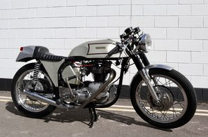 1972 Triton Cafe Racer. Fitted with 650cc unit construction