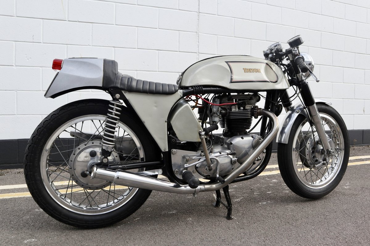 1972 Triton Cafe Racer. Fitted with 650cc unit construction  For Sale (picture 3 of 6)