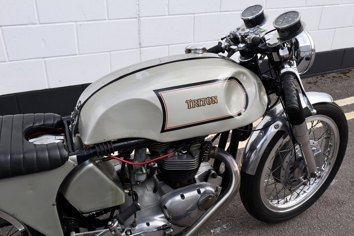 1972 Triton Cafe Racer. Fitted with 650cc unit construction  For Sale (picture 5 of 6)