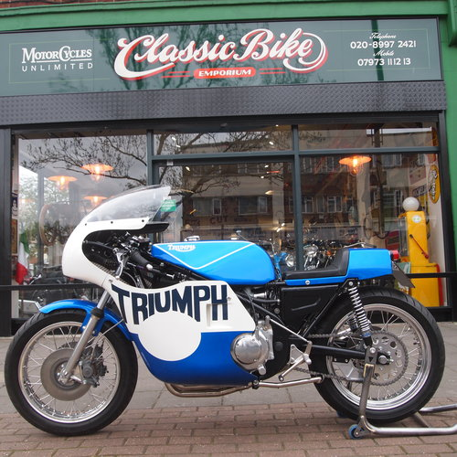 1975 Rob North Triumph Trident. RESERVED FOR BRUCE. SOLD (picture 3 of 6)