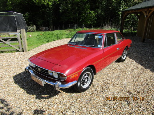 1977 Triumph Stag Auto (1 Owner From New) SOLD (picture 1 of 6)