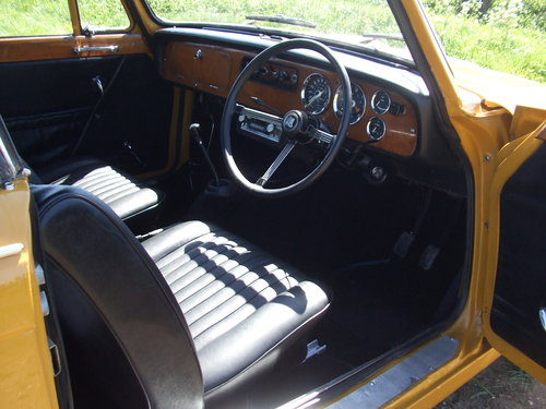 1971 VITESSE CONVERTIBLE MK2 2L 1 OWNER 62K OVERDRIVE SOLD (picture 5 of 6)