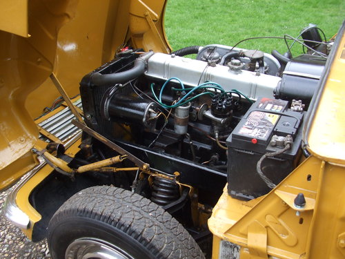 1971 VITESSE CONVERTIBLE MK2 2L 1 OWNER 62K OVERDRIVE SOLD (picture 6 of 6)