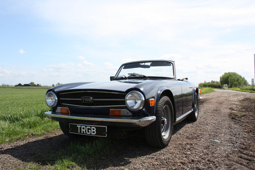 TR6 1972 UK CAR WITH OVERDRIVE SOLD (picture 1 of 6)