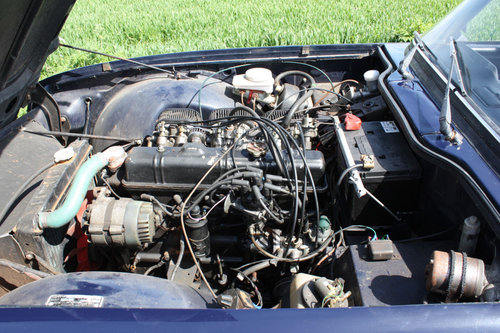 TR6 1972 UK CAR WITH OVERDRIVE SOLD (picture 4 of 6)