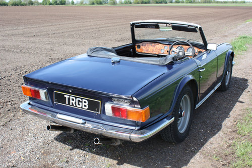 TR6 1972 UK CAR WITH OVERDRIVE SOLD (picture 5 of 6)