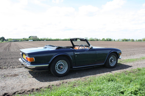 TR6 1972 UK CAR WITH OVERDRIVE SOLD (picture 6 of 6)