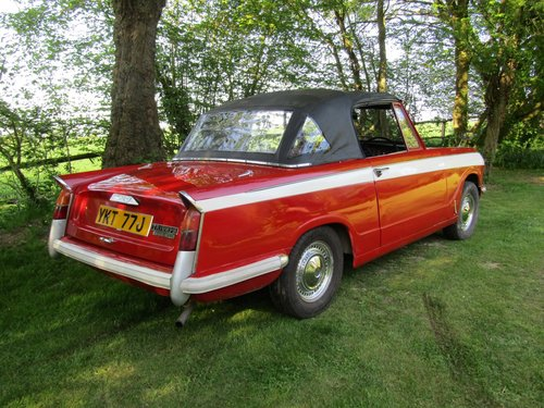 1971 Triumph Herald 13/60 convertible SOLD (picture 3 of 6)