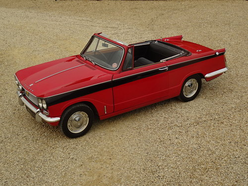 Triumph Vitesse - Utterly Original 1st Owner 50 years SOLD (picture 1 of 6)