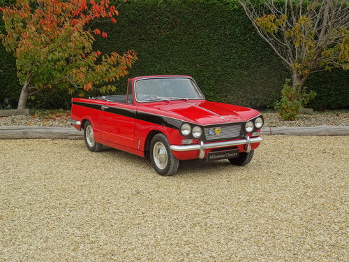 Triumph Vitesse - Utterly Original 1st Owner 50 years SOLD (picture 2 of 6)