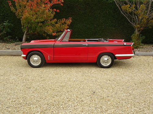 Triumph Vitesse - Utterly Original 1st Owner 50 years SOLD (picture 3 of 6)