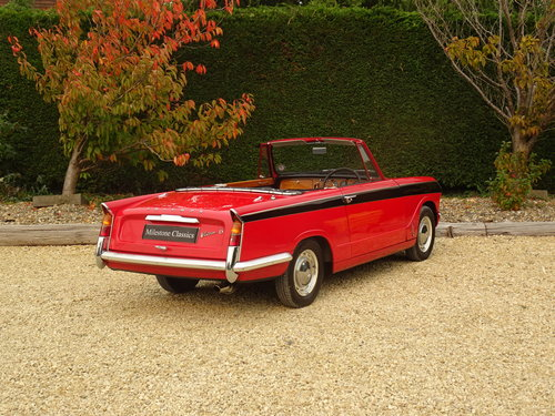 Triumph Vitesse - Utterly Original 1st Owner 50 years SOLD (picture 4 of 6)