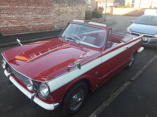 1972 Triumph Herald Convertible 13/60 SOLD (picture 1 of 6)