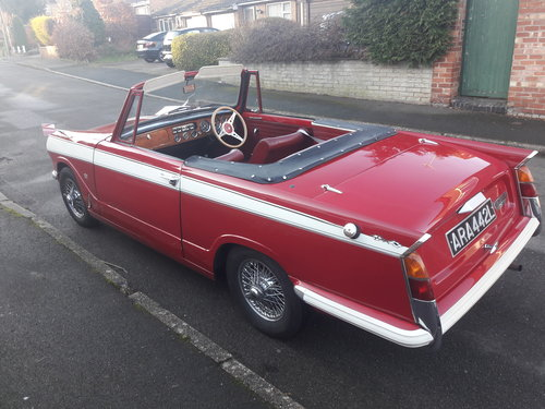 1972 Triumph Herald Convertible 13/60 SOLD (picture 2 of 6)