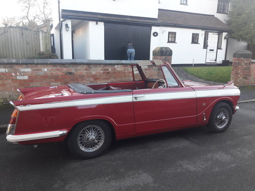 1972 Triumph Herald Convertible 13/60 SOLD (picture 3 of 6)
