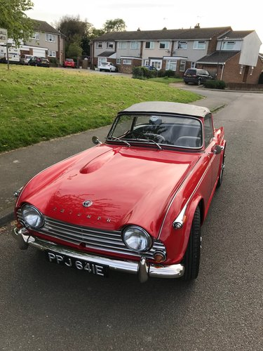 1967 Triumph Tr4a Irs Sold Car And Classic