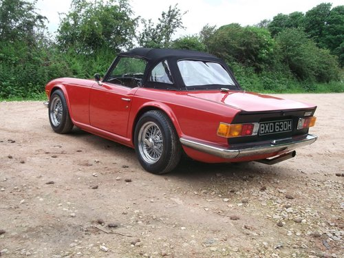 1970/H TRIUMPH TR6 - FAST ROAD SPECIFICATION SOLD (picture 2 of 6)