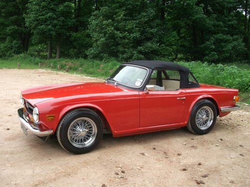 1970/H TRIUMPH TR6 - FAST ROAD SPECIFICATION SOLD (picture 3 of 6)