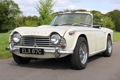 1965 Triumph Tr4a Irs Full Mechanical Restoration Sold Car And Classic