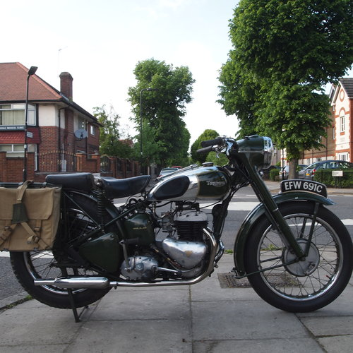 1965 TRW500 Side Valve Twin, RESERVED FOR GEORGE. SOLD (picture 1 of 6)