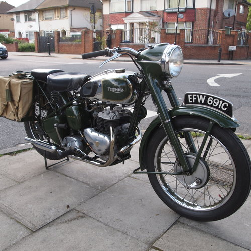 1965 TRW500 Side Valve Twin, RESERVED FOR GEORGE. SOLD (picture 2 of 6)