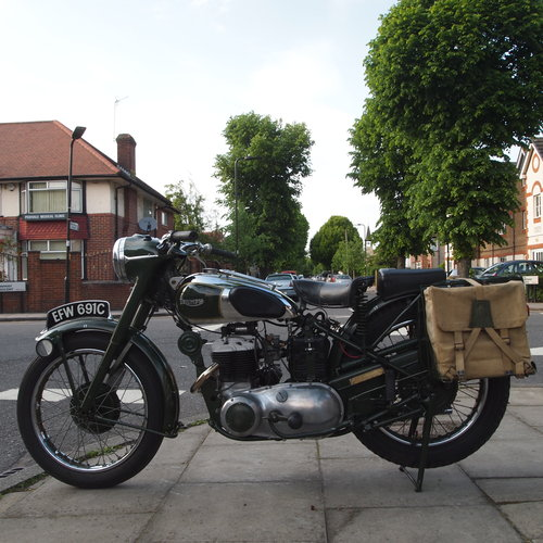 1965 TRW500 Side Valve Twin, RESERVED FOR GEORGE. SOLD (picture 4 of 6)