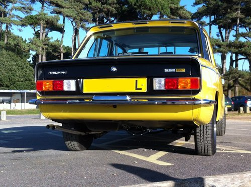 1973 Rare 2 owner very early Dolomite Sprint. SOLD (picture 5 of 6)
