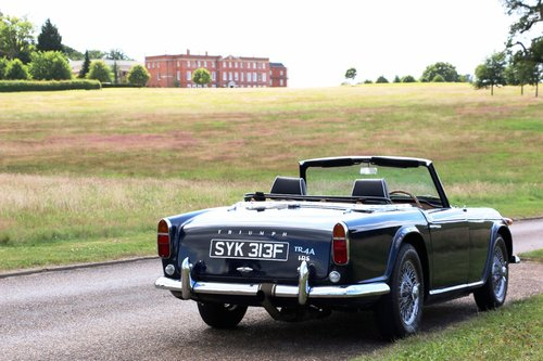 1968 Triumph TR4A IRS for hire For Hire (picture 3 of 5)