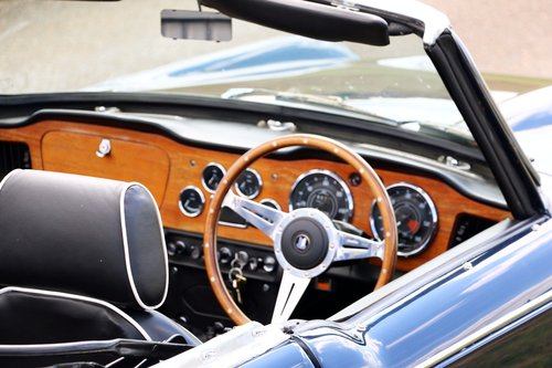 1968 Triumph TR4A IRS for hire For Hire (picture 5 of 5)