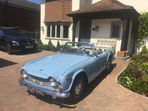 1966 Triumph TR4a SOLD (picture 1 of 6)