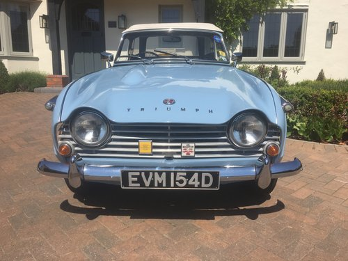 1966 Triumph TR4a SOLD (picture 3 of 6)
