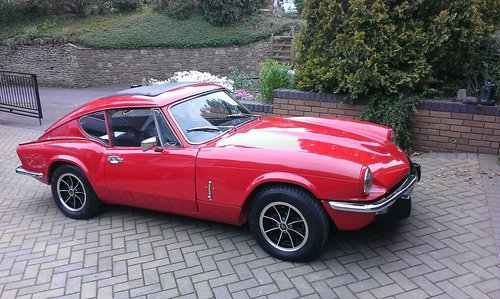 1972 TRIUMPH GT6 - 75,000 MILES COMPLETELY RESTORED SOLD (picture 1 of 6)