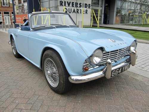 1962 Triumph TR4 For Sale | Car And Classic