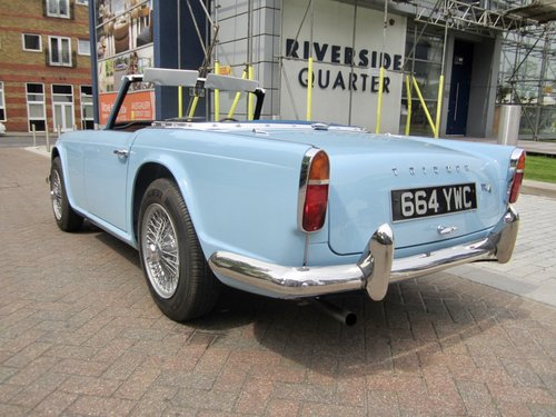 1962 Triumph TR4 For Sale (picture 5 of 6)