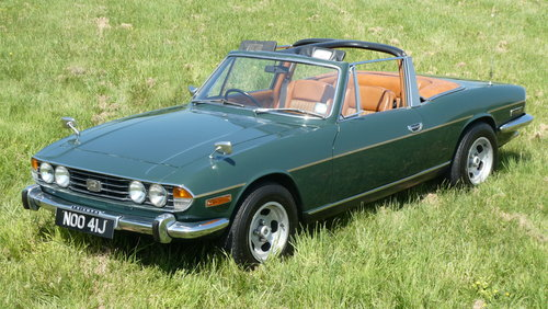 1971 Triumph Stag Manual V8 For Sale SOLD (picture 2 of 6)