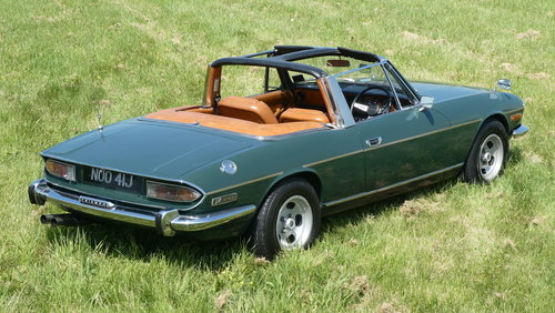 1971 Triumph Stag Manual V8 For Sale SOLD (picture 4 of 6)