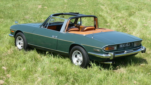 1971 Triumph Stag Manual V8 For Sale SOLD (picture 5 of 6)