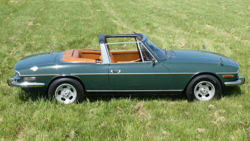 1971 Triumph Stag Manual V8 For Sale SOLD (picture 6 of 6)