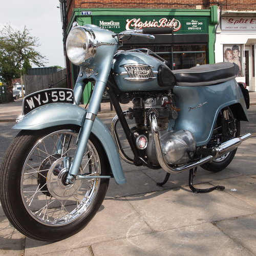 1961 T21 350cc ' Twenty One ' Model 3TA, SOLD. SOLD (picture 5 of 6)