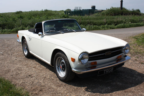 1969 TR6 ORIGINAL UK 150 BHP CAR SOLD (picture 1 of 6)